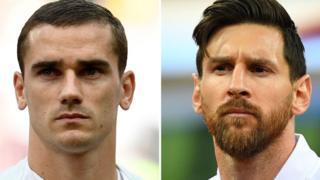 Griezmann dan Messi