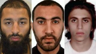 Khuram Butt, Rachid Redouane na Youssef Zaghba walitekeleza mashambulizi ya daraja la London