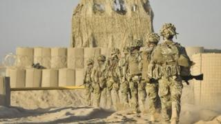 British soldiers in Helmand
