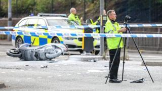 Prestwich crash