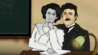 Mileva, la première épouse d'Albert Einstein était très brillante.