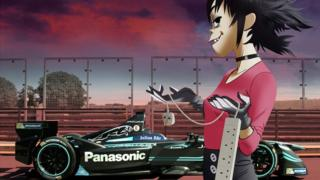 Gorillaz female guitarist, Noodle, is already Jaguar's Formula E Racing's ambassador.