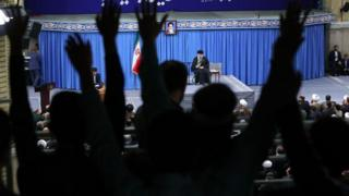 علی خامنهای در استان آذربایجان شرقی