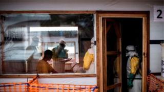 Hamwe mu havurirwa Ebola i Bunia muri Kongo