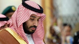 Mohamed bin Salman, Saudi Defence Minister (file pic Nov 2015)