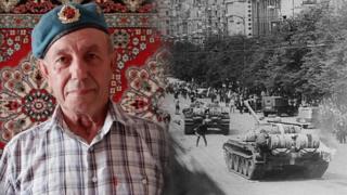 Russian veteran of Operation Danube