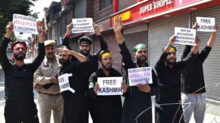 The Kashmiris detained more than 700km away from home