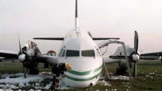Aftermath of the Stansted emergency landing