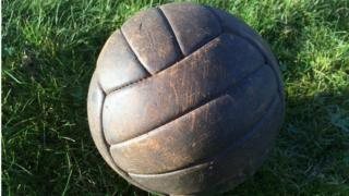 The ball from the 1953 FA Cup Final