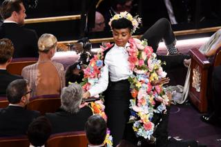 in_pictures Singer-songwriter Janelle Monae performs on stage