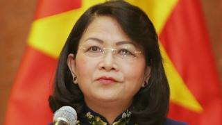 Ủy viên TƯ Đảng Đặng Thị Ngọc Thịnh đang thực hiện quyền Chủ tịch nước Việt Nam