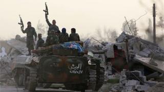 Assad annonce la poursuite des opérations