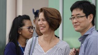 ကုလသမဂ္ဂ အတွင်းရေးမှူးချုပ်ရဲ့ မြန်မာနိုင်ငံဆိုင်ရာ အထူး ကိုယ်စားလှယ် Christine Burgener လည်းလုံခြုံရေးကောင်စီမှာ တင်ပြဆွေးနွေး