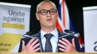 El primer ministro de sanidad neozelandés, David Clark.