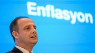 Türkiye Cumhuriyet Merkez Bankası (TCMB) Başkanı Murat Çetinkaya