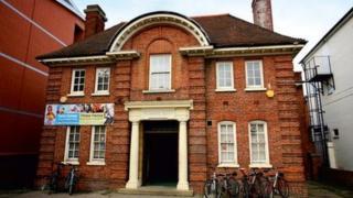 Arthur Hill Memorial Baths in Reading