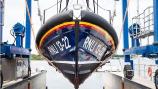 The Shannon-class lifeboat