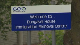 Dungavel House sign