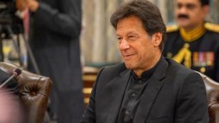 ইমরান খান, পাকিস্তানের প্রধানমন্ত্রী।