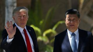ABD Başkanı Donald Trump ve Çin Devlet Başkanı Xi Jinping