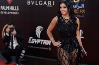 Rania Youssef di Festival Film Kairo