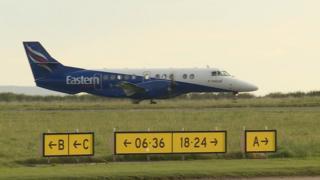 Itealan Eastern Airways aig Port-Adhair Steòrnabhaigh