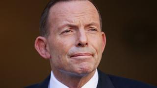 Australia's former prime minister Tony Abbott