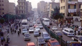 Car traffic in Cairo, Egypt. File photo