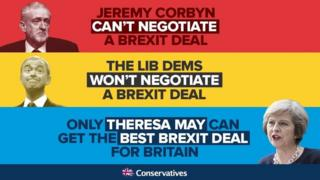 A Conservative attack ad, focusing on Brexit