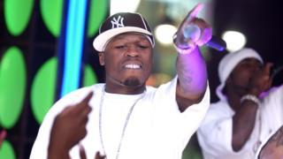 """50 Cent в 2003 году (в этом году он выпустил """"In Da Club"""""""