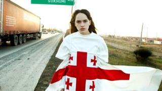 Грузинский бренд Situationist в коллекции 2015 года использует национальный флаг