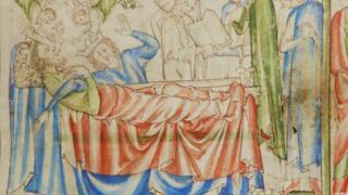 Смерть Эдуарда исповедника, средневековая летопись