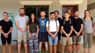 Иностранцы в Камбодже