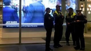 یورش پلیس به ایبیسی