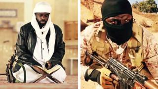 Africans depicted in IS training video