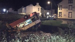 Isle of Man flooding