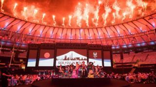 Церемония закрытия Игр