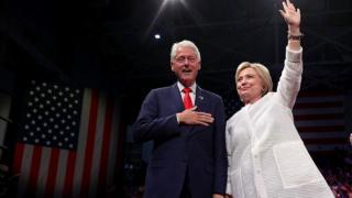 Billl y Hillary Clinton