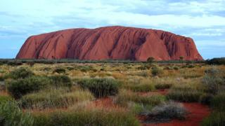 The traditional owners of Uluru ask that visitors do not venture onto the granite landmark