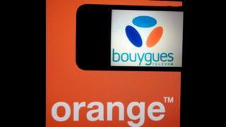 Orange and Bouygues logos