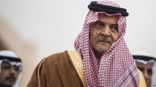 Prince Saud al-Faisal. Photo: January 2014