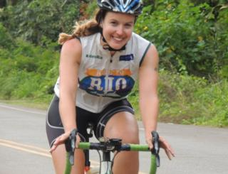 Charlie Webster on her Ride to Rio