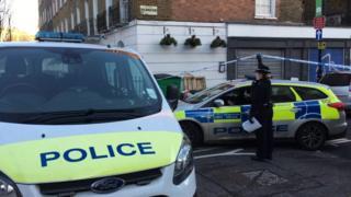 Euston Street stabbing: Man dies in hotel reception