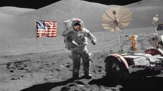 """Джин Сернан командував місією """"Аполлон-17"""" у грудні 1972"""