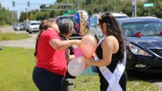 Ariana Diaz's birthday parade