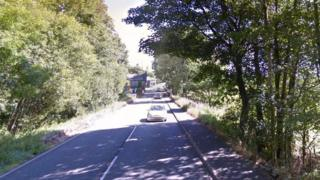 The crash was on the A5 at Pentrefoelas