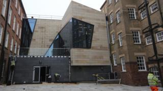 Northampton's museum and art gallery.