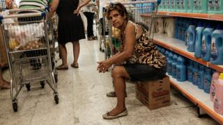 Brazilian shoppers
