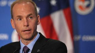 Dennis Muilenburg, Chairman, President, and CEO, The Boeing Company,