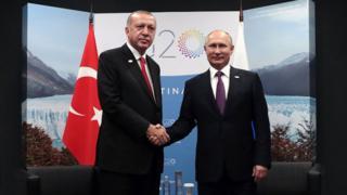 Erdoğan və Putin